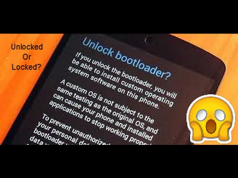Check If Device Bootloader is Unlocked or Locked