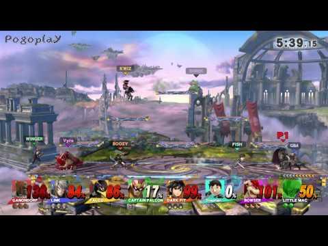 Super Smash Bros for WiiU - 8-Player Smash + Duck Hunt Dog unlock