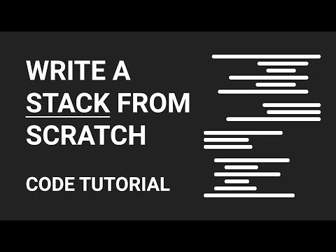 Stack Implementation | Code Tutorial