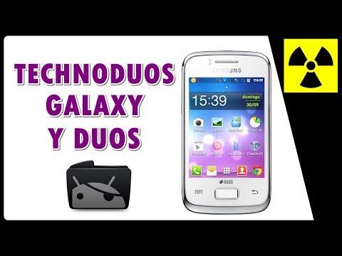 Rom Custom - TechnoDUOS no Galaxy Y DUOS 6102B - (100% FUNCIONAL) + CWM