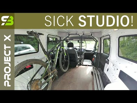Mobile SickBiker Studio. Fiat Doblo Maxi As A Camper For Cyclist. Part 1.