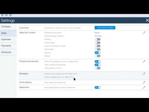 Update Your Company Settings in QuickBooks