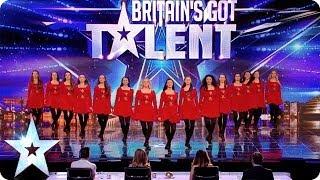 Irish dancers surprise the Judges with their modern twist | Britain