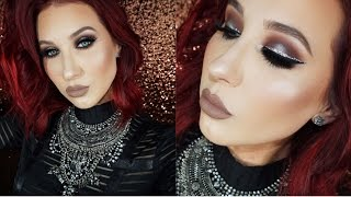 Halo Smokey Eye with Glitter Liner  | Jaclyn Hill