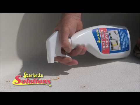 How to Remove Rust Stains From Your Boat Gelcoat