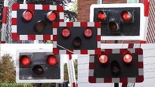 NEW Alarm Set-Up* Swatlands Level Crossing, Kent
