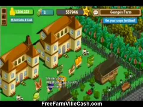 Get Free Farmville Cash - Farmville cash for free - Be the MAX Level and have everything you want