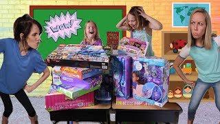 BEST Teachers Compete at Toy School !!!