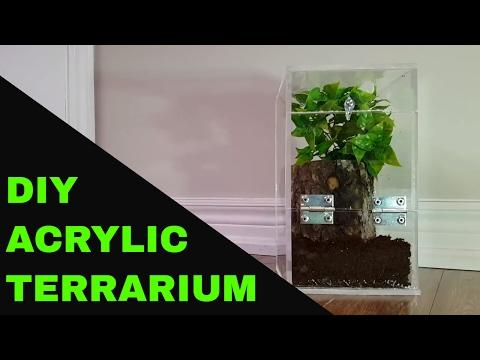 Acrylic Terrarium - DIY