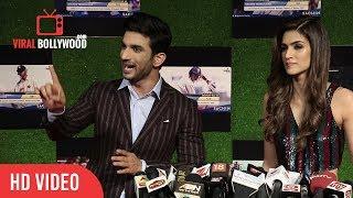 Sushant Singh and Kriti Sanon Reaction on Magadheera Makers File Case Against Raabta Movie