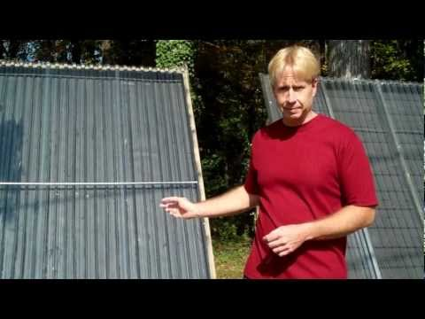Super Simple, CPVC Solar Hot Water Collector