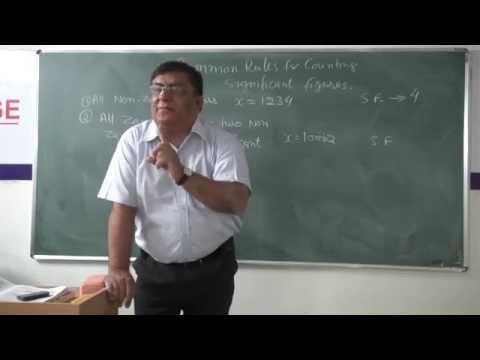 XI-2.10. Significant figures, Pradeep Kshetrapal (2014)