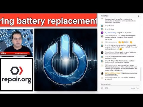 Free Macbook Pro Battery Replacement for Select Models | Monday Afternoon Tech Talk Live Stream Edit