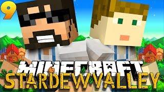 Minecraft: STARDEW VALLEY | WE FOUND A HUGE EXPLOIT!! #9