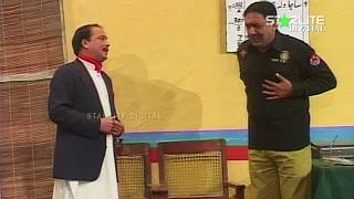Amanat Chan Sohail Ahmed New Pakistani Stage Drama  Kali Chader  Full Comedy Clip