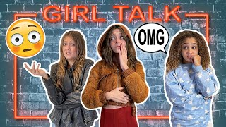 Girl Talk REVEALING OUR INSECURITIES Ft Sophie Fergi Corinne Joy Sarah Dorothy Little