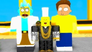 RICK AND MORTY IN ROBLOX!