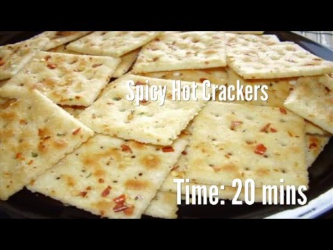 Spicy Hot Crackers Recipe