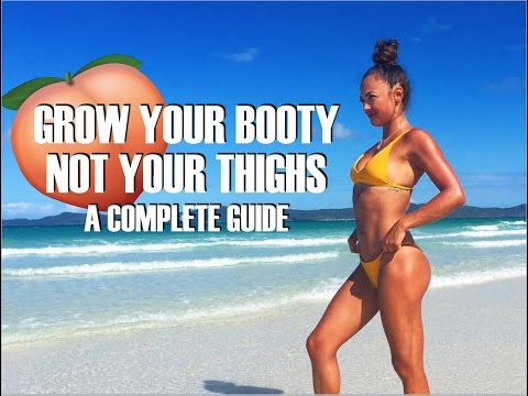 How To Grow Your Butt WITHOUT Growing Your Thighs | NO SQUATS Booty Workout