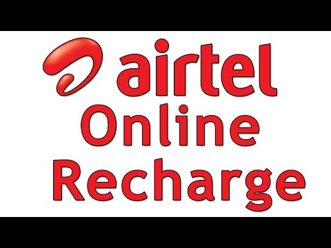 how to recharge your airtel mobile online in india