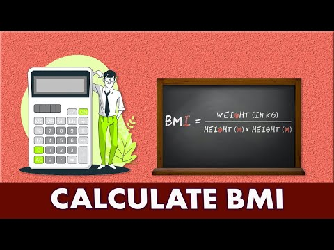 How to Calculate Body Mass Index or BMI - Mathematical Formula Explained ✔