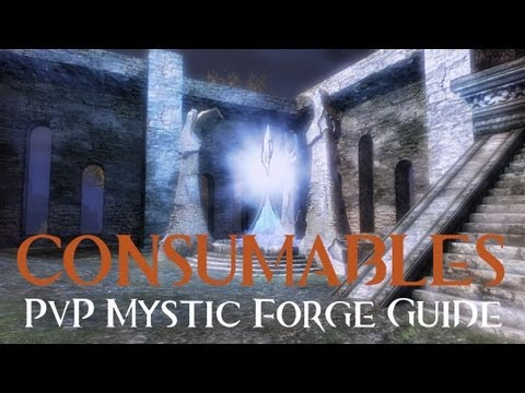 Guild Wars 2: PvP Mystic Forge Guide - Consumables (Dyes, Glory Boosters, Finishers)