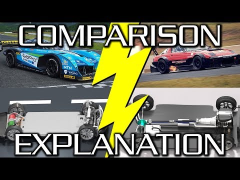 Electric vs. Combustion - Which Makes the Better Racecar?