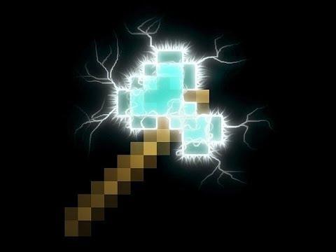 Minecraft - Kako napraviti Diamond Axe Statue - Tutorial