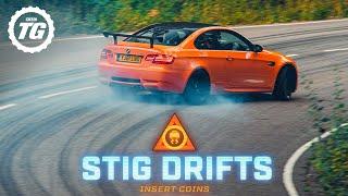 Brand New Stig Drifts: BMW M3 GTS | Top Gear