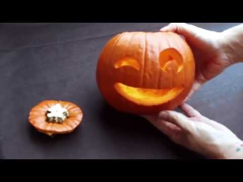 How to make your own pumpkin for Halloween