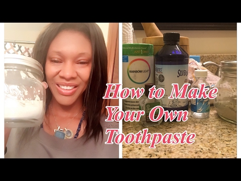 How to Make Your Own Fluoride Free Toothpaste- Re-mineralize Your Teeth