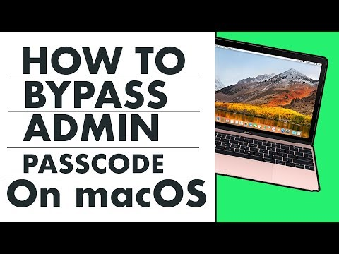 Fix - How To Unlock Any MacBook Without Password on Mac OS High Sierra ?