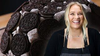 Alix's Cookies and Ice Cream Dome Cake • Tasty