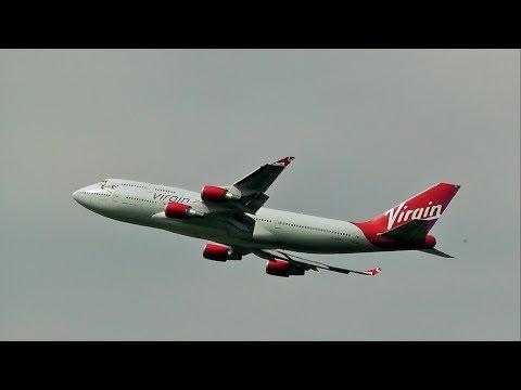 Virgin Atlantic Boeing 747-400 (G-VGAL) @ Belfast International Airport, Co. Antrim