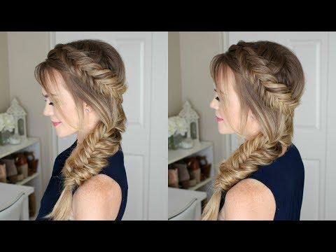 Dutch Fishtail Side Braid | Missy Sue