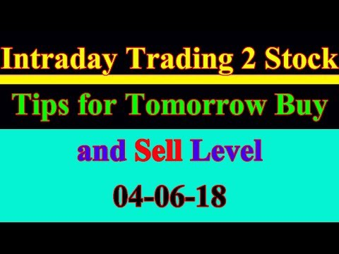 Intraday trading stock tips for tomorrow # Strong level in hindi | 04-06-18