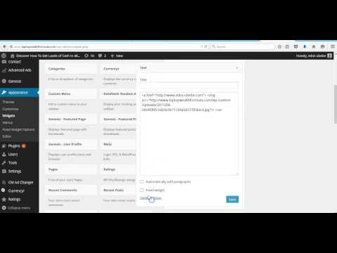 How to Create a Floating Sidebar Widget in WordPress