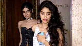 Jhanvi Kapoor & Khushi Kapoor stylish outing for Sridevi