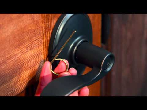 Schlage Privacy/Passage Lever: Switching the Handing (F10/F40)