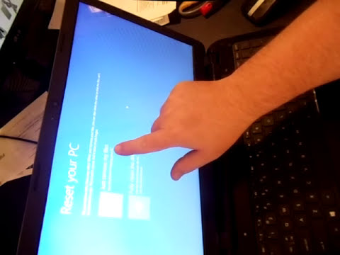 HP 15 Laptop Factory Restore reinstall reset OS Windows 8 10 15-R011dx 15-r015dx 15-r017dx 15-R018dx