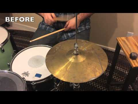 How to Make Your Cheap Cymbals Sound Amazing