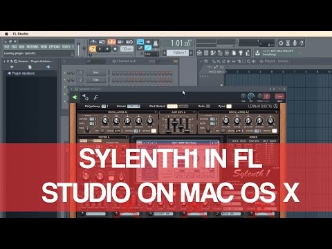 Sylenth1 In Fl Studio On Mac OS X El Capitan