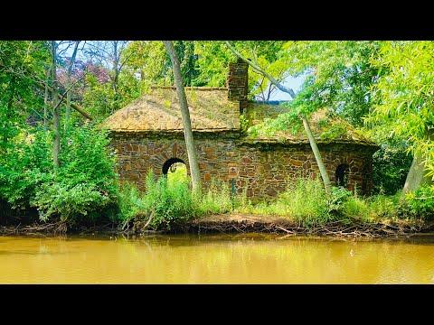 Mysterious Abandoned Stone House at Lake Takanassee Long Branch NJ Elberon Ross Lake