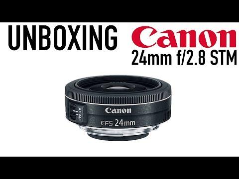 Unboxing Canon EF 24MM f/2.8 STM Lens