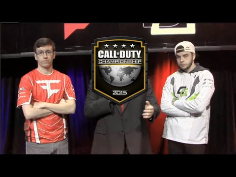 Call Of Duty North American Championships 2015 - Nadeshot and Aches Interview