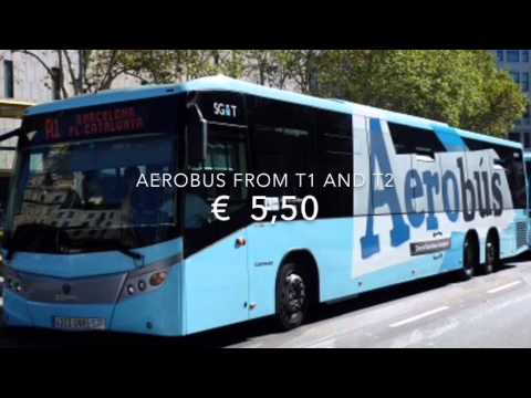 Barcelona airport transport to the city