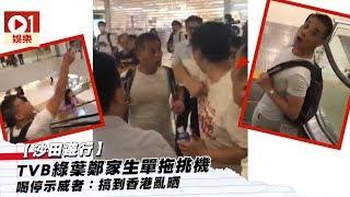 【沙田遊行】TVB綠葉鄭家生單拖挑機 喝停示威者:搞到香港亂晒