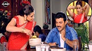 Venkatesh And Arthi Agarwal Cute Love Scene | Telugu Videos | Vendithera