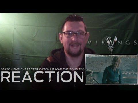 Vikings SE5 Character Catch Up Ivar (Alex Høgh Andersen) History REACTION