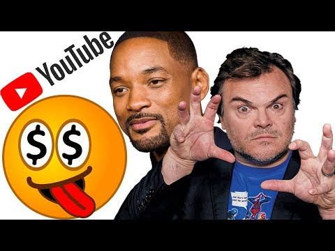 Are Celebrities Being Greedy On YouTube? The Will Smith & Jack Black Paradigm